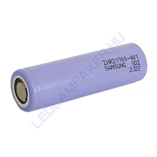21700 Akkumulátor, Li-ion 4000 Mah, 20A, 3.7V, 2 Év Garancia