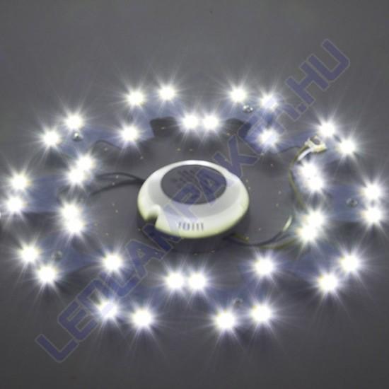 Led UFO Lámpa Betét, Mágneses, 2x18w, 2x1440lm, Változtatható Színhőmérséklet, 2 Év Garancia