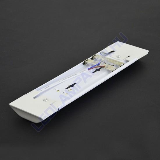 Led Armatúra, Bútor és Pultvilágítás, Beépített Fénycsővel, Hideg Fehér, 10w, 800lm, T12, 30cm, IP20, Beltéri, 2 Év Garancia