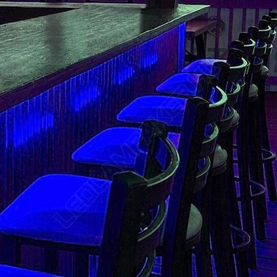Led Armatúra Beépített Fénycsővel, 18w, 1440lm, Kék, T5, 120cm, IP20, Beltéri, 2 Év Garancia