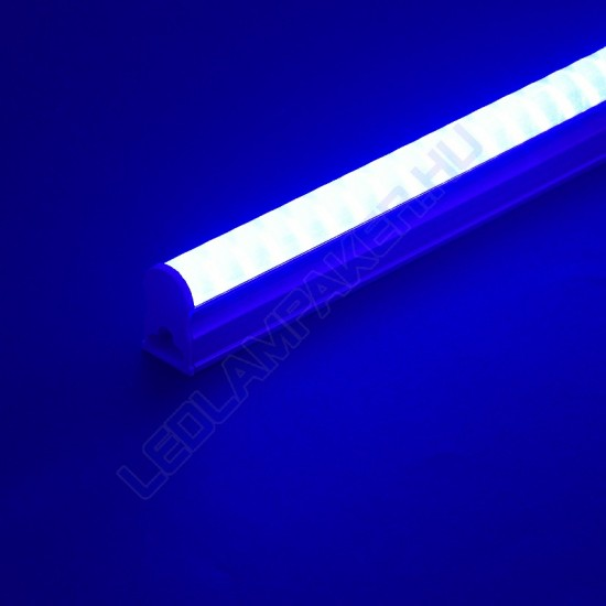 Led Fénycső Armatúra Beépített Fényforrással, 18w, 1440lm, Kék, T5, 120cm, IP20, Beltéri, 2 Év Garancia