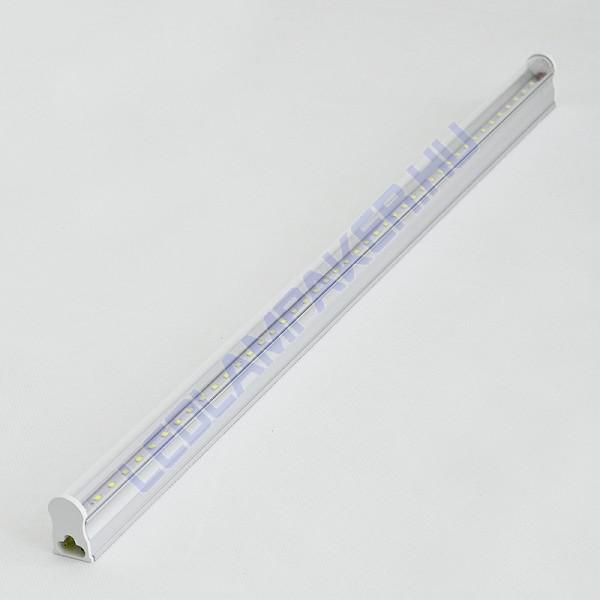Led Fénycső Armatúra, Beépített Fényforrással, 10w, 800lm, Hideg Fehér, T5, 60cm, IP20, Beltéri, 2 Év Garancia