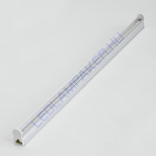 Led Fénycső Armatúra, Beépített Fényforrással, 10w, 800lm, Meleg Fehér, T5, 60cm, IP20, Beltéri, 2 Év Garancia