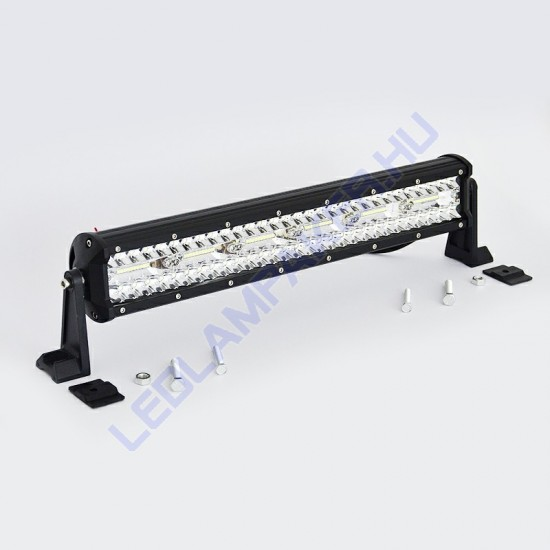 Led fényhíd, 45cm, 360w, 10-30v, IP67, kombinált fénysugár
