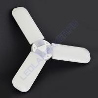 Led Izzó Ventilátorlapát Alakú, Összecsukható, 45w, 4300Lm, Hideg Fehér, 2 Év Garancia