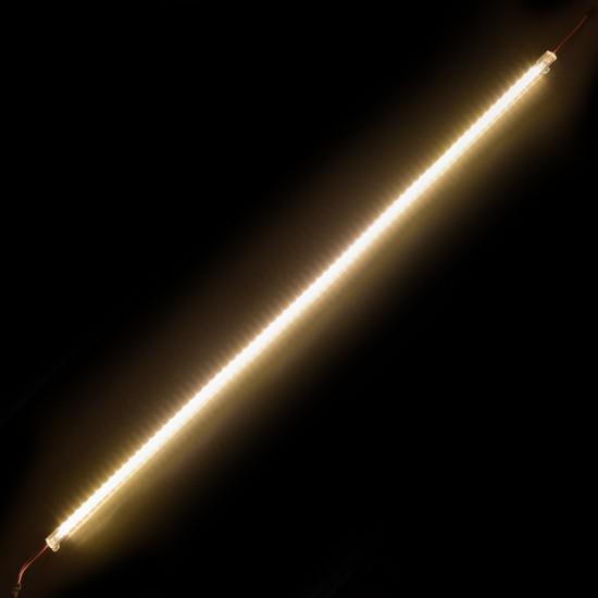 LED Csík, Műanyag Profilban, Szerelőakna, Kirakat, Pult, Rejtett Világítás, Sorolható, 100cm, IP20, Meleg Fehér, 2 Év Garancia