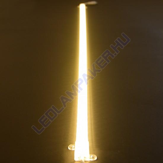 LED Modul, Műanyag Profilban, Szerelőakna, Kirakat, Pult, Rejtett Világítás, Dimmelhető, 100cm, IP20, Meleg Fehér, 2 Év Garancia