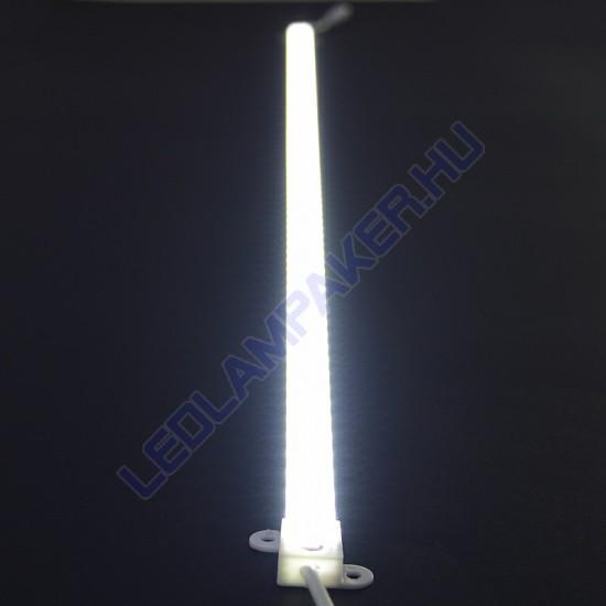 LED Modul, Alumínium Profilban, Vízálló, Pince, Szerelőakna, Kirakat, Pult, Rejtett Világítás, Dimmelhető, 100cm, IP65, Hideg Fehér, 2 Év Garancia