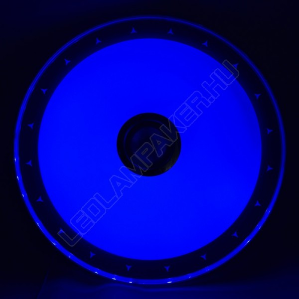 Okos Led Lámpa Mennyezeti, Távirányítóval, Bluetooth Hangszóróval, 45w, 3600lm, Változtatható Színhőmérséklet és RGB Szín, 2 Év Garancia