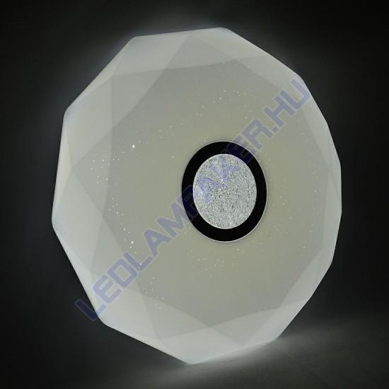 Csillagos Égbolt Effektes, Sokszög Alakú, Led Mennyezeti Lámpa, 2x36w, 4300lm, Változtatható Színhőmérséklet, 2 Év Garancia